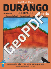 Durango Trails Map GeoPDF