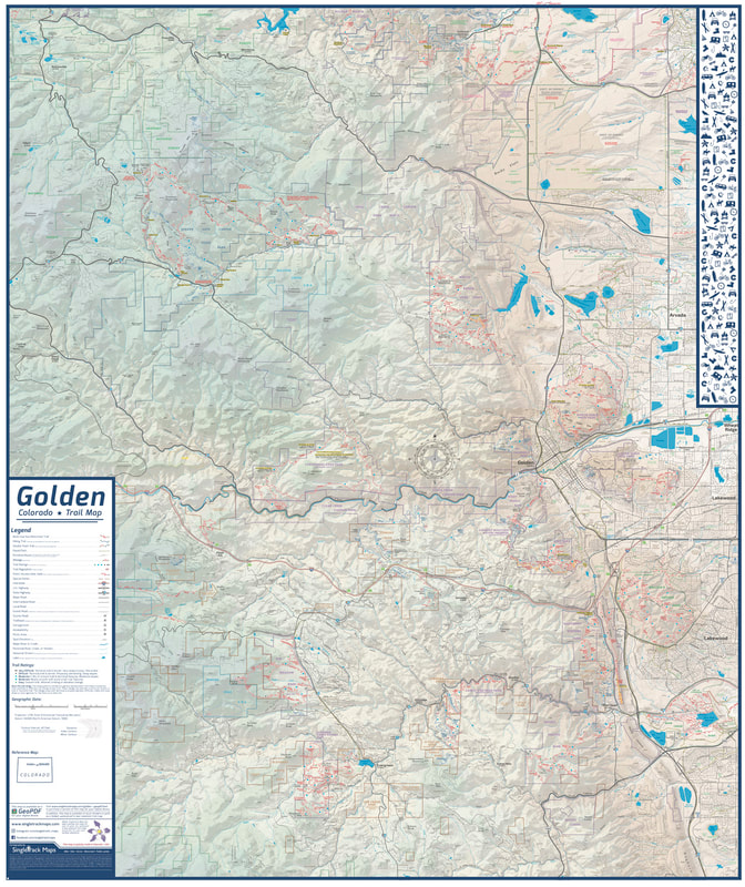Crested Butte Trails Map