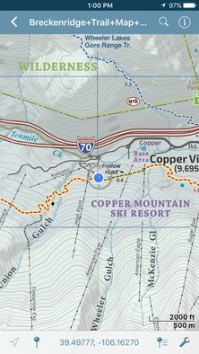 Summit County Trail Map App